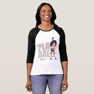 Playball Pinup Pitcher T-Shirt