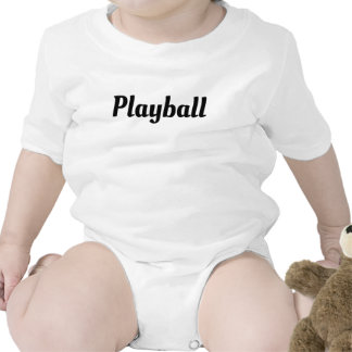 Playball Rompers