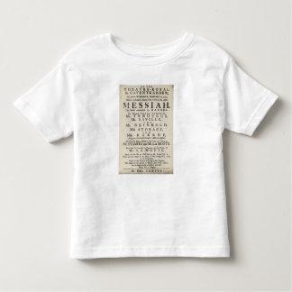 Playbill advertising a performance toddler t-shirt