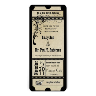 Playbill texturizado enrrollado negro remolina bod