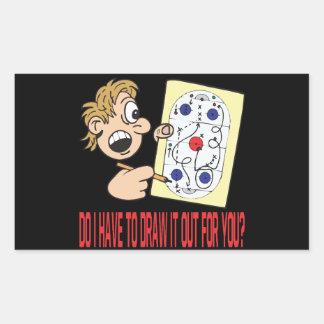 Playbook Rectangular Sticker
