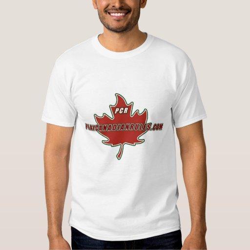 PlayCanadianRules.com Design 2 Shirt