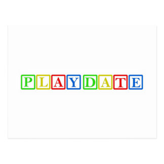 Playdate Block Party Postcard