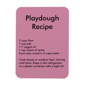 Playdough Recipe Magnet