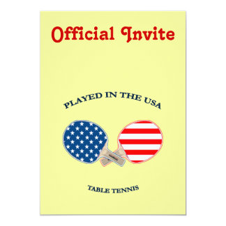 Played in USA Table Tennis Announcements