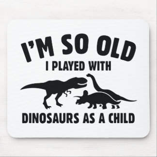 Played With Dinosaurs Mouse Pad