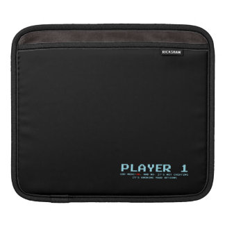 Player 1 iPad pad Horizontal, Sleeve for iPad