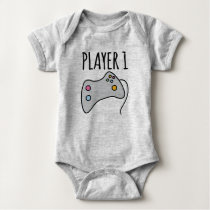 Player 1 Player 2 Player 3 Baby Bodysuit