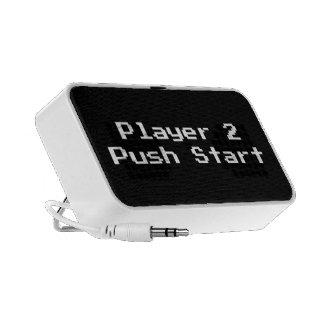 Player 2 Push Start Mini Speaker