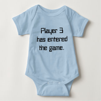 Player 3 baby tee