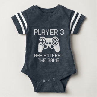 Player 3 Has Entered The Game Baby Bodysuit