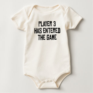 Player 3 Has Entered The Game Romper