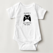 Player 3 Has Entered the Game Video Game Baby Baby Bodysuit