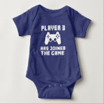Player 3 has joined the Game funny baby Infant Creeper