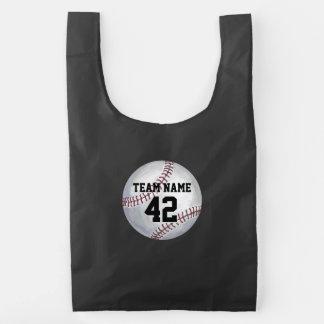 Player and Number Baseball Reusable Bag