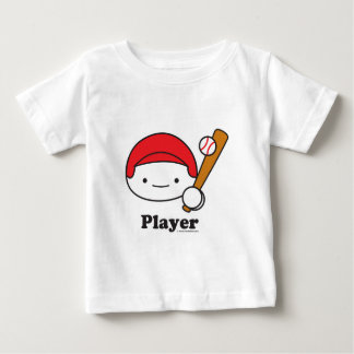 Player (baseball) Baby Apparel (more styles) Baby T-Shirt