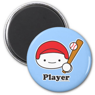 Player (baseball) Magnet (more styles)