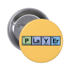Round Button with Player design