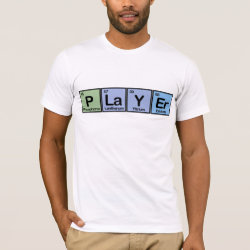 Men's Basic American Apparel T-Shirt with Player design