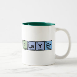 Two-Tone Mug with Player design