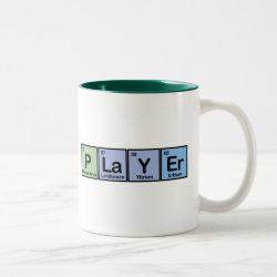 Two-Tone Mug with Player design