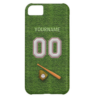 Player Number 00 - Cool Baseball Stitches Case For iPhone 5C