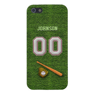 Player Number 00 - Cool Baseball Stitches iPhone SE/5/5s Cover
