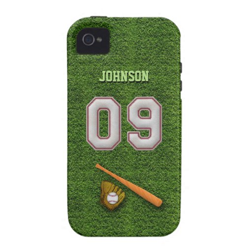 Player Number 09 - Cool Baseball Stitches Case For The iPhone 4