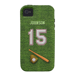Player Number 15 - Cool Baseball Stitches iPhone 4/4S Cover
