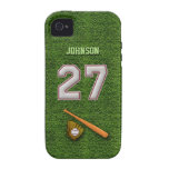 Player Number 27 - Cool Baseball Stitches Case For The iPhone 4