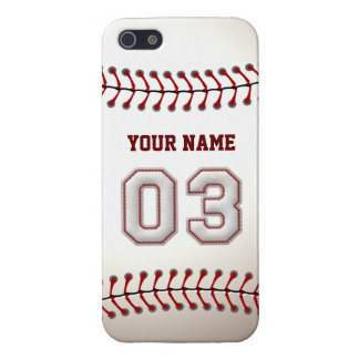 Player Number 3 - Cool Baseball Stitches Cover For iPhone SE/5/5s