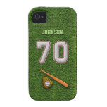 Player Number 70 - Cool Baseball Stitches iPhone 4/4S Covers