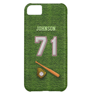 Player Number 71 - Cool Baseball Stitches iPhone 5C Case