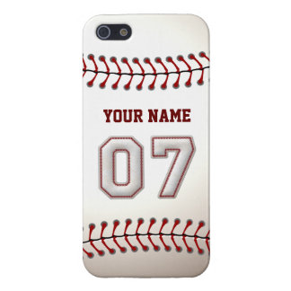 Player Number 7 - Cool Baseball Stitches Case For iPhone SE/5/5s