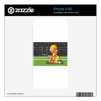 Player of American Soccer iPhone 4S Decal