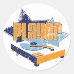 Player Round Stickers