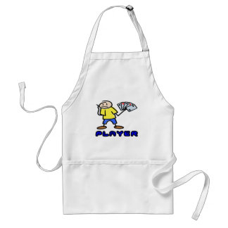 Player T-shirts and Gifts. Apron