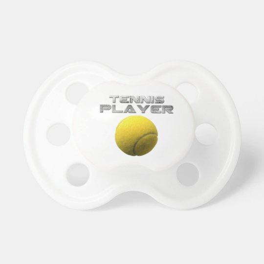 Player tennis pacifier