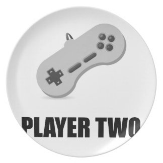Player Two Plate