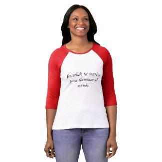 Playera con texto positivo T-Shirt