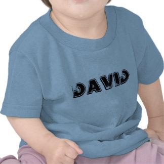 PLAYERA INFANTIL CON NOMBRE DAVID SHIRTS