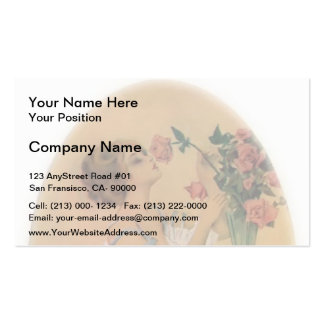 Players by Honore Daumier Business Card Templates