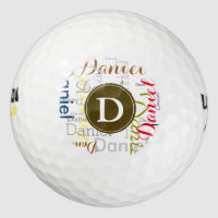 player's name golf balls