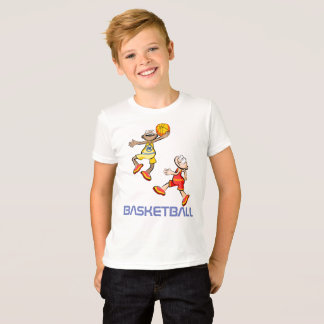 Players of Basketball jumping T-Shirt
