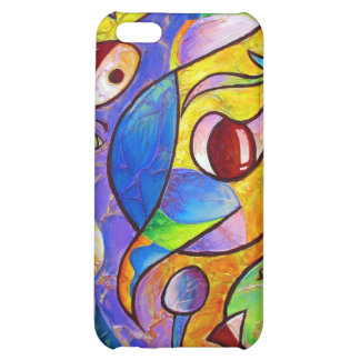 Playful Abstract by Christopher ORAced Decaro iPhone 5C Cases