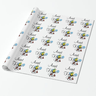Playful Aunt To Bee Gift Wrap