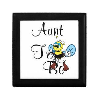 Playful Aunt To Bee Keepsake Boxes