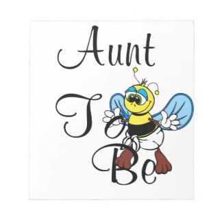 Playful Aunt To Bee Note Pads