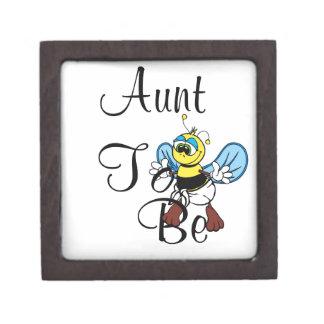 Playful Aunt To Bee Premium Jewelry Box