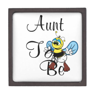 Playful Aunt To Bee Premium Trinket Boxes